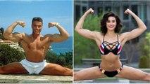 Van Damme (JCVD) training Martial Arts for daughter - Bianca Bree