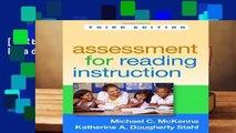 [FREE] Assessment for Reading Instruction