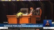 Tiga Kali Batal, Rapat Pemilihan Wagub Jakarta Ditunda Kembali
