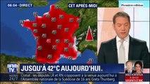 40°C à Nantes, 41°C à Limoges et même 42°C à Agen... Plusieurs records de chaleur pourraient être battus ce mardi