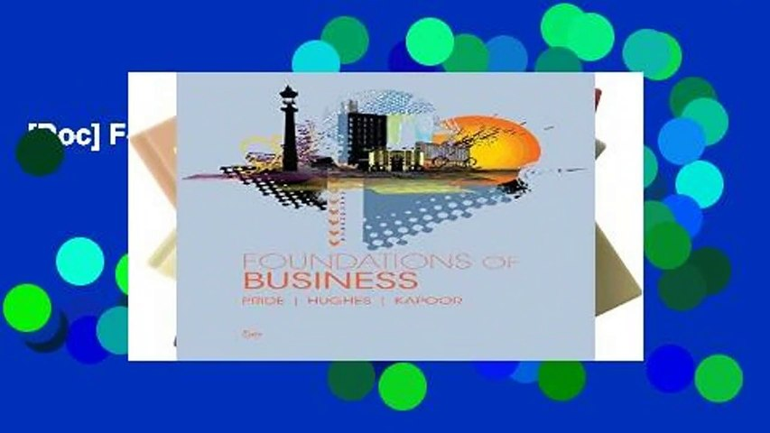 [Doc] Foundations of Business