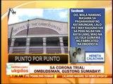 Punto por Punto: Ombudsman asks Corona to explain $10-M