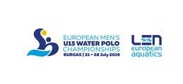 Men's U15 European Water Polo Championship - BURGAS 2019 - DAY 3