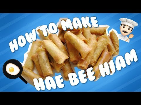 How To Make Hae Bee Hiam (Spicy Dried Shrimp Crackers)