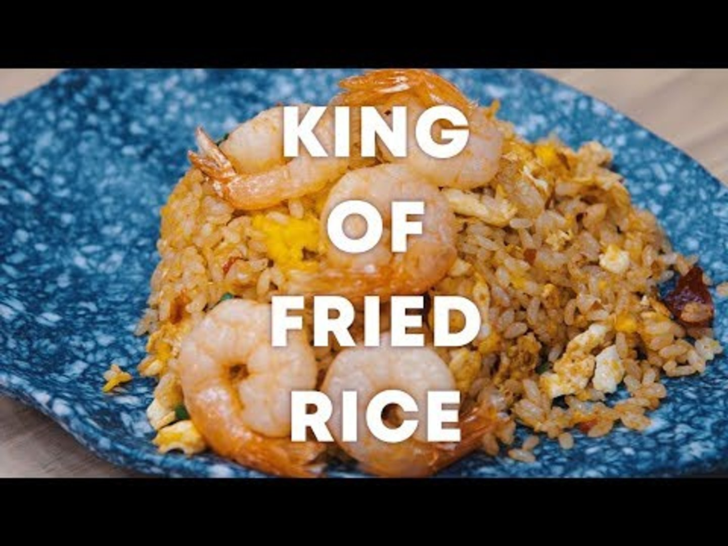 The Fried Rice Master of Singapore: King of Fried Rice