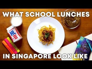 What School Lunches in Singapore Look Like: 1980s vs 2010s