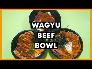 Affordable $10 Wagyu Beef Japanese Rice Bowl: Kinobe