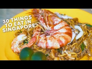 30 Famous Local Foods To Eat in Singapore Before You Die