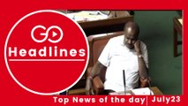 Top News Headlines of the Hour (23 July, 11:15 AM)