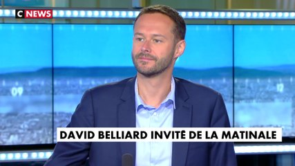 David Belliard - CNews mardi 23 juillet 2019