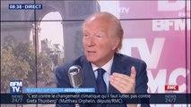 """Affaire libyenne: """"Il y a eu une machination soigneusement préparée"""" contre Nicolas Sarkozy, affirme Brice Hortefeux"""