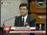 Prosecutor says Miriam's voice shrill, hurts his ears