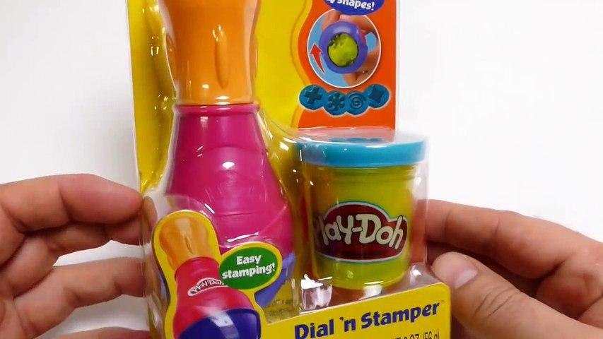 Play Doh Toys - Dial 'n  Stamper Playset