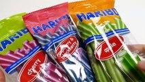 Haribo Balla Stixx - Apple, Cherry & Raspberry Candy