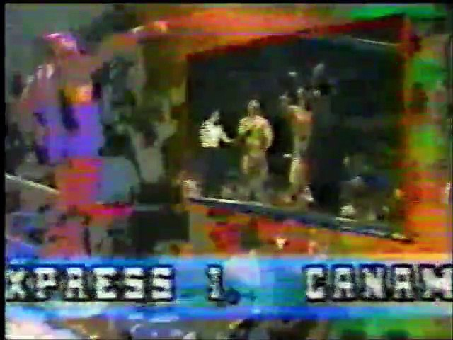 Los Can Am Express/The Killer vs Black Scorpio/Enrique Vera/Villano III (UWA July 11th, 1992)