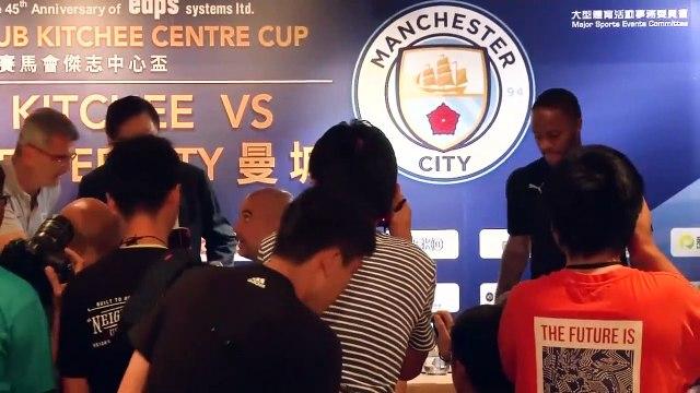 City boss Guardiola slams China trip critics, says club feels safe in Hong Kong