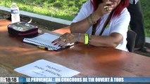 Le Provençal : les boulistes participent en nombre au concours de tir
