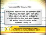 Pinoys excited for 'Bourne' shoot in Manila