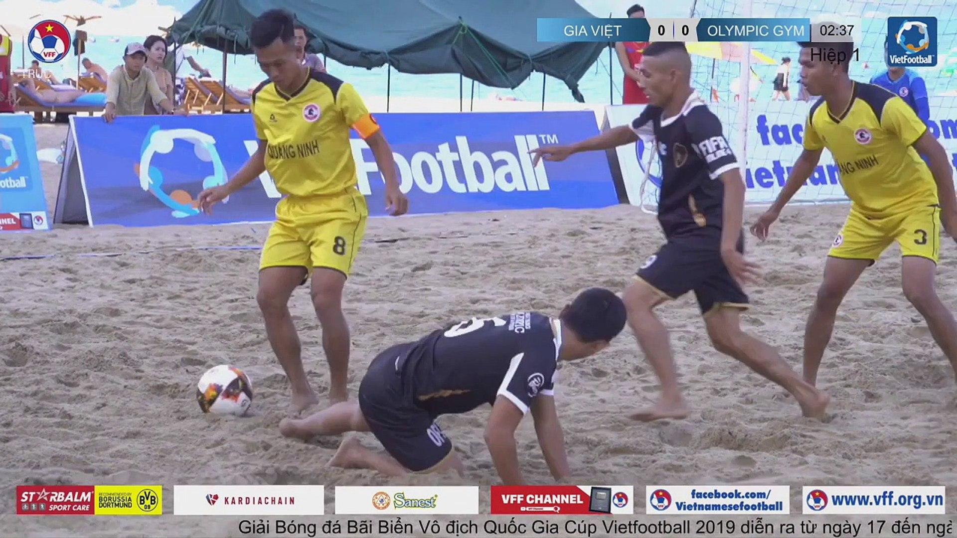 Trực tiếp | Trận tranh hạng 3 | Gia Việt - Olympic GYM | VFF Channel