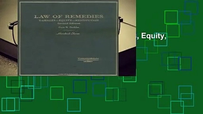 [READ] Law of Remedies: Damages, Equity, Restitution (Hornbook)