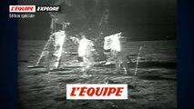 Les premiers pas sur la Lune - Tous sports - Émission spéciale