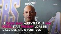 Fast & Furious 9 : Vin Diesel témoin de la chute de sa doublure, il serait sous le choc
