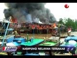 Belasan Rumah Nelayan di Nipah Panjang Jambi Hangus Terbakar
