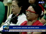 Senate holds hearing on case of abused maid
