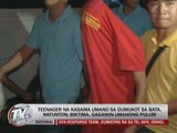 Minor accused of kidnapping 6-year-old nabbed