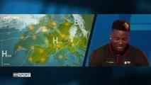 Clint Capela présente la météo à la télévision suisse
