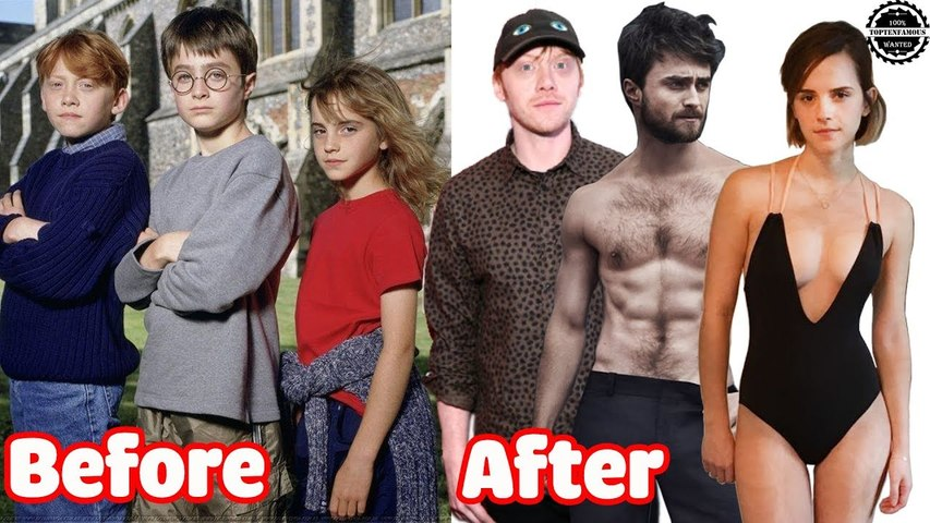 Emma Watson vs Daniel Radcliffe vs Rupert Grint ★ Before And After ★ Harry Potter 2018