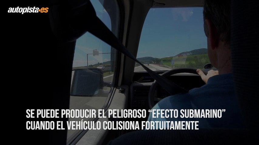 """Qué es el """"efecto submarino"""" en el coche y cómo evitarlo"""