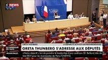 Regardez la jeune Greta Thunberg qui interpelle les députés français: « Certains ont choisi de ne pas m'écouter, c'est pas grave ! » - VIDEO