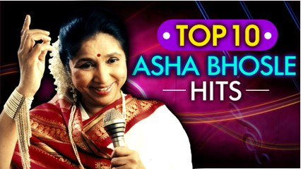 Top 10 Asha Bhosle Hit Songs | Best of Asha | आशा भोसले के 10 गाने | Evergreen Hindi Songs |
