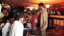 Nandish Singh Sandhu Watching 'Super30' With Orphanage Children At Gaiety Galaxy