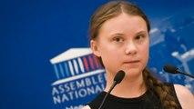 """Greta Thunberg à l'Assemblée : """"Nous sommes l'objet de haine et de menaces"""""""