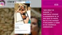 Clara Morgane : En bikini noir sur instagram, elle fait tourner la tête de ses followers