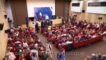 Climat: à l'Assemblée, Greta Thunberg ironise face aux attaques