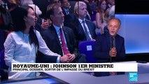 Principal dossier pour Boris Johnson : sortir de l'impasse du Brexit