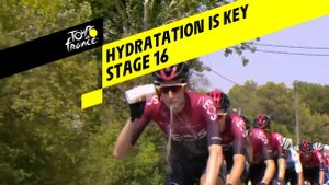 Hydratation est la clé / Hydratation is key - Étape 16 / Stage 16 - Tour de France 2019