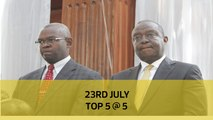 23rd July Top 5 @ 5