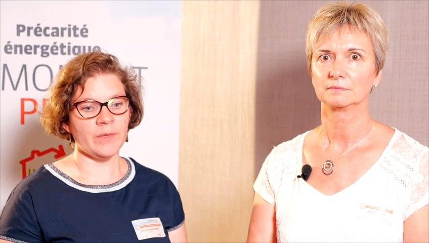 """Moment Pro Habiter Mieux  - Organiser les """"parcours de travaux"""" - Magali SALAUN et Jennifer GIRARDEAU"""