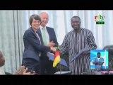 RTB/Signature de convention entre le Burkina Faso et la coopération Allemande