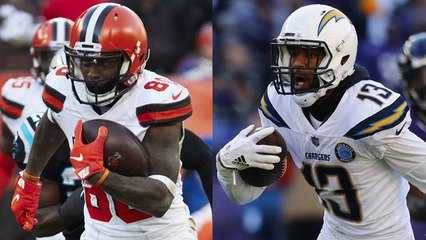 Brandt's dream roster: Bolts, Browns WRs would be 'purely talented'