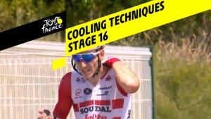 Se refroidir sur le Tour / Cooling techniques - Étape 16 / Stage 16 - Tour de France 2019