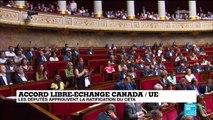 """Les députés approuvent la ratification du Ceta : """"c'est un traité écocide"""" selon un député LFI"""