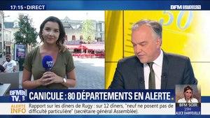 Canicule: 80 départements en vigilance orange