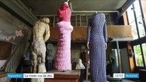 Exposition : la mode vue de dos à travers le prisme de la sculpture