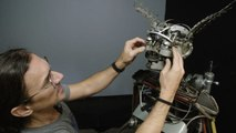 How This Artist Makes Sculptures Out of Old Typewriter Parts