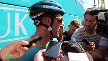 """Tour de France 2019 - Hugo Houle après l'abandon de Jakob Fuglsang : """"On n'a plus le général donc on va aller à la chasse aux étapes"""""""